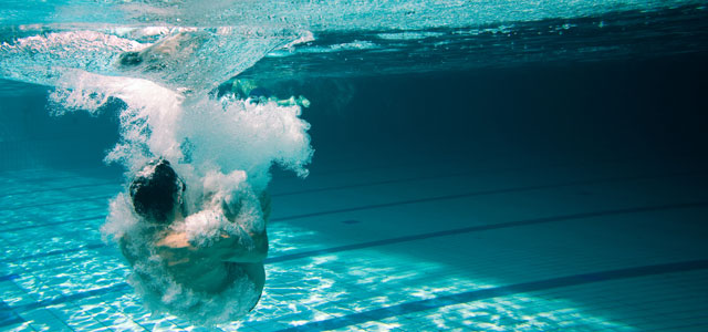 PLAN YOUR BOMB-DIVE KNOW THE POOL DEPTH BEFORE COMMITTING